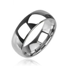 Tungsten błyszcząca obrączka ślubna