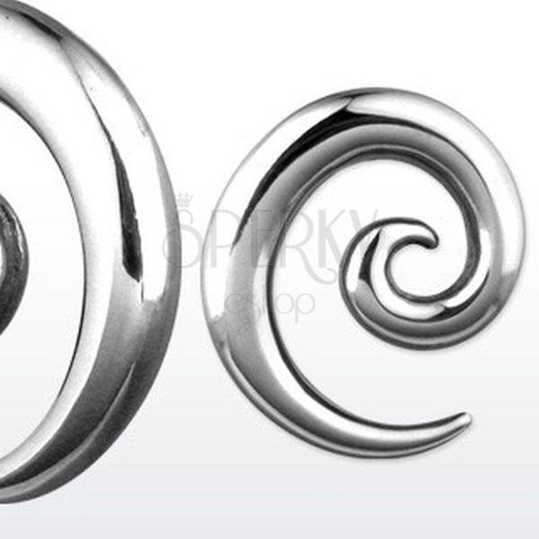 Stalowy expander ślimacza spirala, różne rozmiary