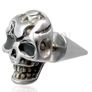 Fake plug z trupią czaszką