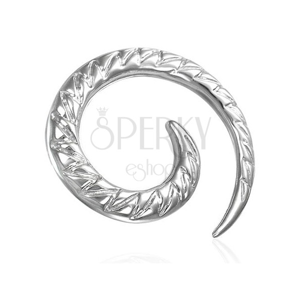 Expander do ucha spirala - ząbki