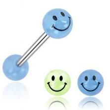 Kolczyk do języka kuleczka uśmiech