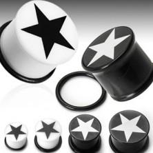 Plug do ucha symbol gwiazda