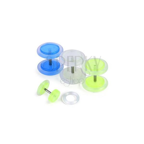 Fake plug - fosforescencyjny, różne kolory