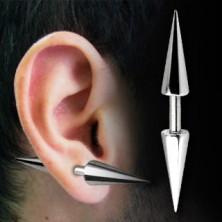 Kolczyk do ucha sztanga - Barbell z grotami basic, różne rozmiary
